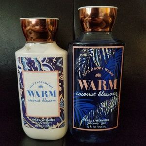 B&BW Warm Coconut Blossm lotion gel